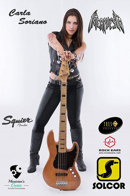Carla Soriano, patrocinadores