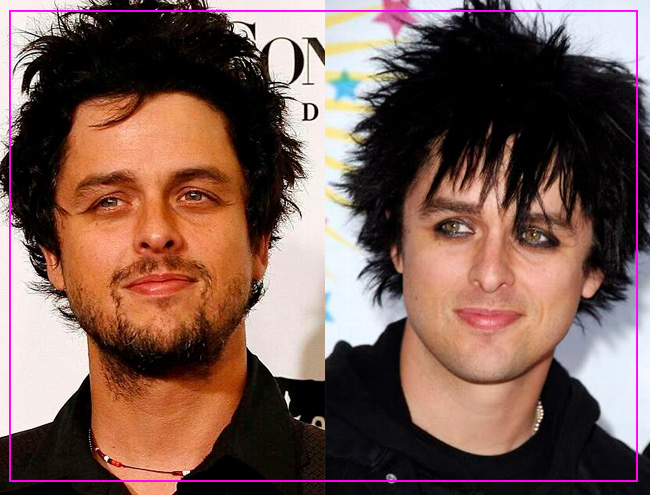 ROCKSTARS CON O SIN BARBA: BILLIE JOE ARMSTRONG