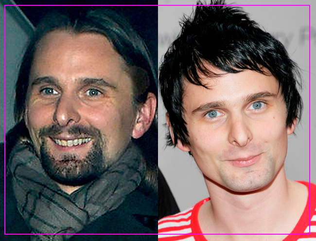 ROCKSTARS CON O SIN BARBA: MATT BELLAMY
