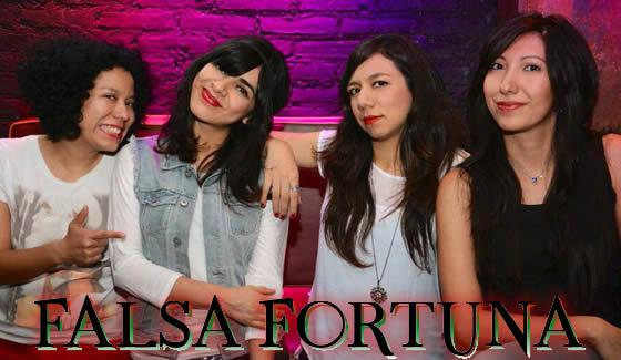Conoce a las chicas de FALSA FORTUNA en CHICAS ROCKERS.  Chicas Rockeras!