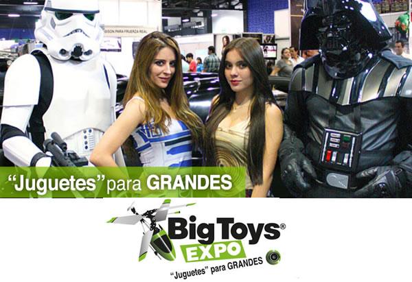 Llega la Expo Big Toys, la expo para los 'niños' grandes en TECNOLOGIA.  Chicas Rockeras!