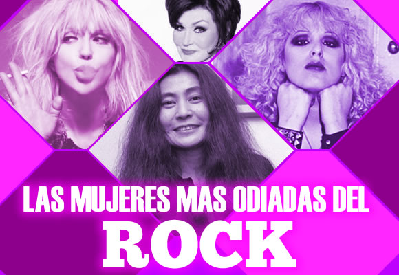 THE BIGGER BITCHES OF ROCK en AMOR & ROCK.  Chicas Rockeras!
