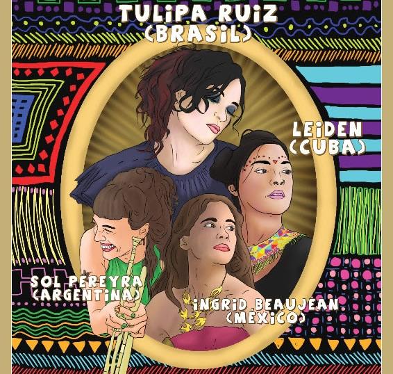 FESTIVALATINA con la nueva generación de cantautoras latinoamericanas - Plaza Condesa en MUSICA.  Chicas Rockeras!