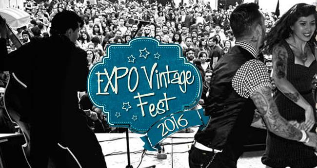 Llega la Expo Vintage a Carpa Astros en CULTURA.  Chicas Rockeras!