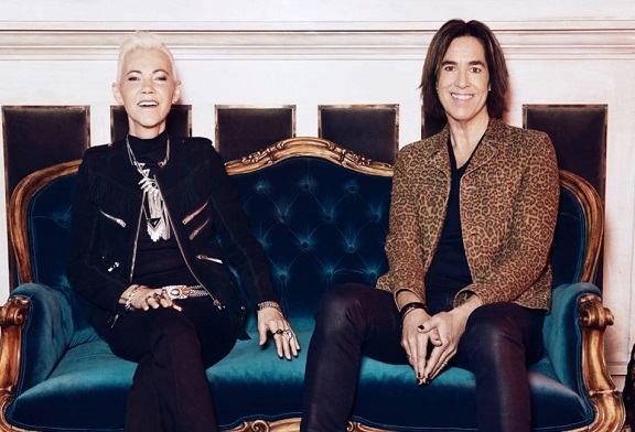 Roxette presenta el video para: It Just Happens en MUSICA.  Chicas Rockeras!