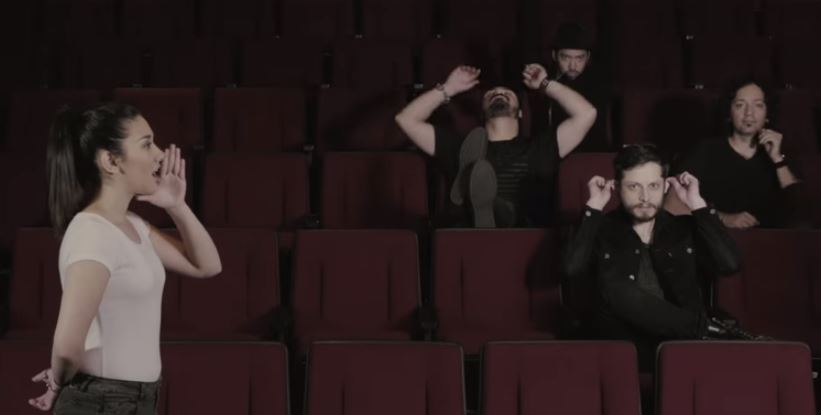 LOS DANIELS presentan 'Ahora', el primer sencillo de 'Inmortal' en MUSICA.  Chicas Rockeras!