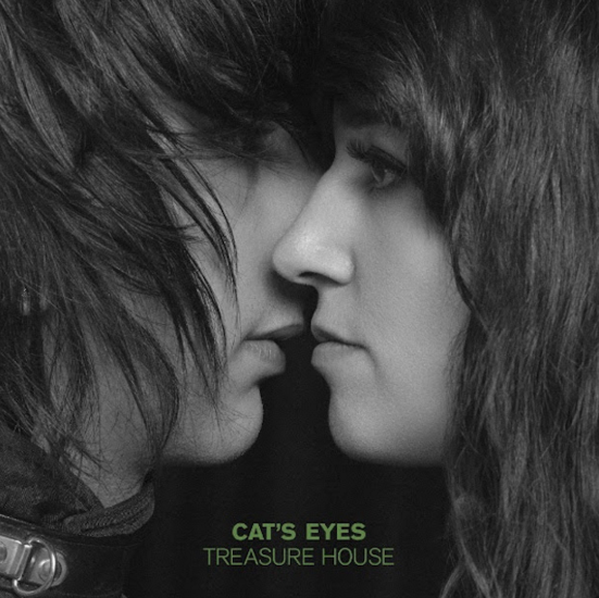 Nuevo disco de Cat´s Eye - Treasure House en MUSICA.  Chicas Rockeras!