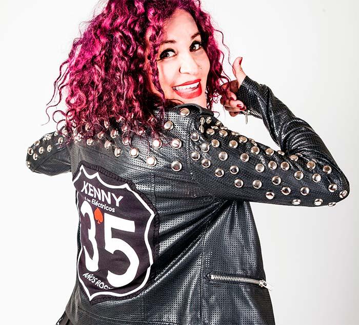 KENNY Y LOS ELECTRICOS CELEBRAN 35 AÑOS DE TRAYECTORIA en NOTICIA.  Chicas Rockeras!