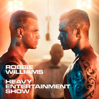 ROBBIE WILLIAMS LANZARÁ SU NUEVO ÁLBUM DE ESTUDIO 'HEAVY ENTERTAINMENT SHOW'