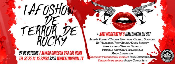 Lafoshow De Terror De Rocky Vuelve a EL IMPERIAL en EVENTOS.  Chicas Rockeras!