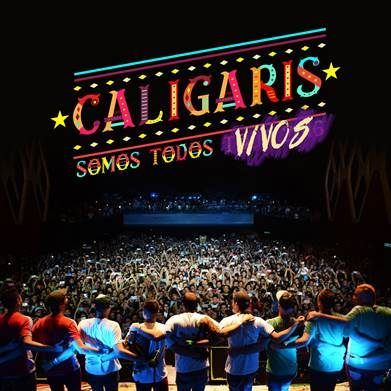 LOS CALIGARIS PRESENTAN SU PRIMER EP DIGITAL 'SOMOS TODOS VIVOS' en MUSICA.  Chicas Rockeras!