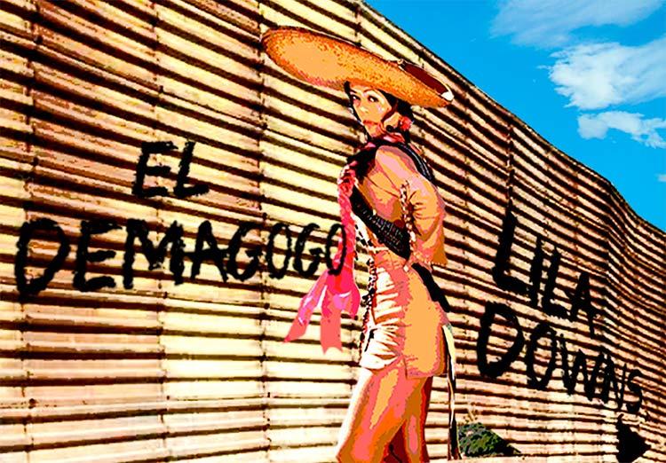 LILA DOWNS PRESENTÓ SU NUEVO SENCILLO 'EL DEMAGOGO' DURANTE EL EVENTO 'RISE UP AS ONE'