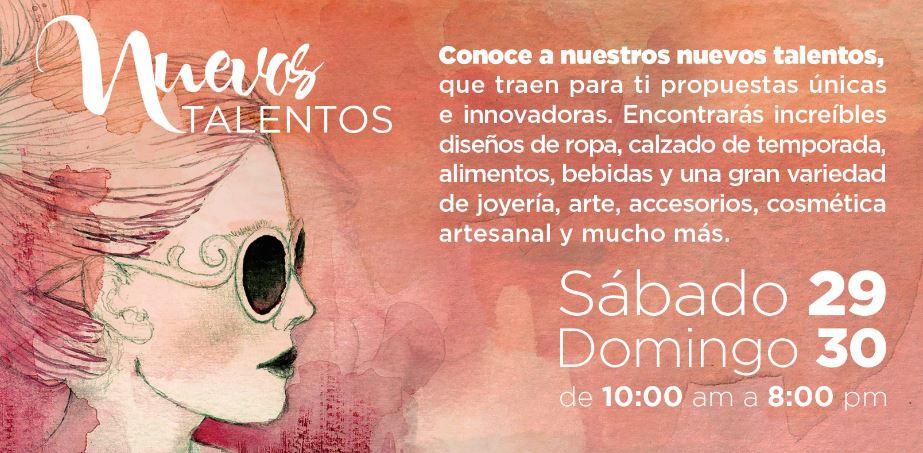 NUEVOS TALENTOS DEL DISEÑO MEXICANO - 29 y 30 de octubre