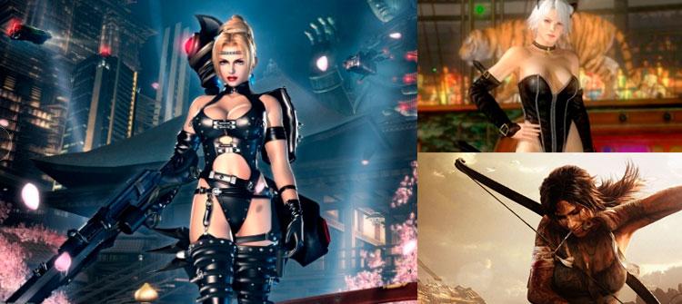 Mujeres y sus roles en los videojuegos en TECNOLOGIA.  Chicas Rockeras!