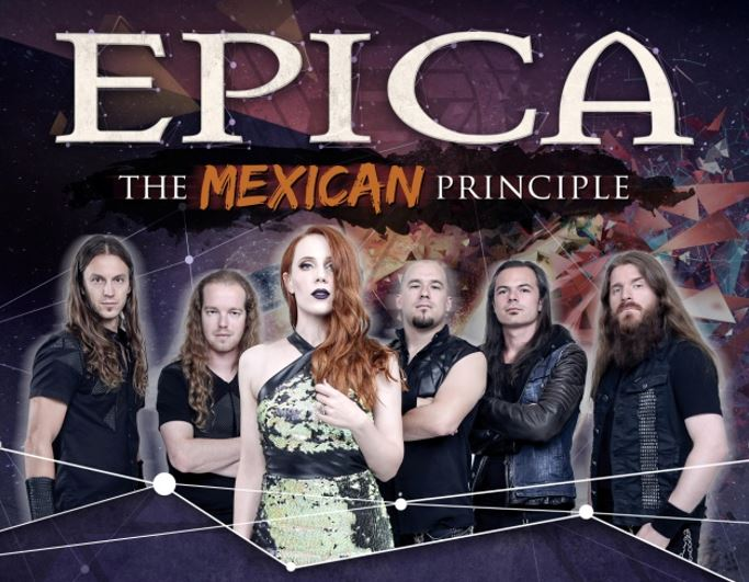 EPICA REGRESA A MÉXICO PARA ESCENIFICAR SU GIRA  'THE MEXICAN PRINCIPLE'