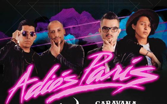 ADIÓS PARÍS en Pasagüero en EVENTOS.  Chicas Rockeras!