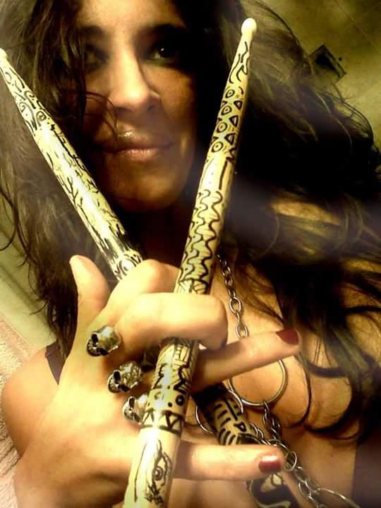 ANDREA CUELLO, una chica rockera desde argentina!