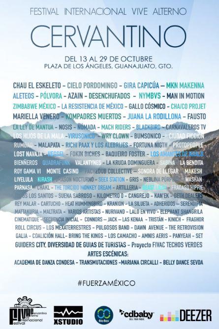 DEEZER apoya el Talento Indie en el Festival Cervantino en EVENTOS.  Chicas Rockeras!