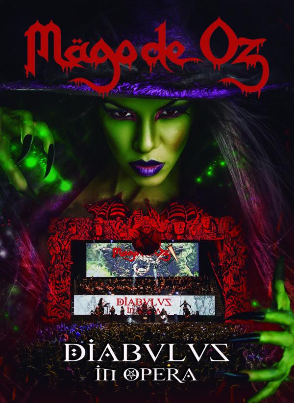 MAGO DE OZ Nº1 de ventas en México, con su nuevo álbum DIABULUS IN OPERA en MUSICA.  Chicas Rockeras!