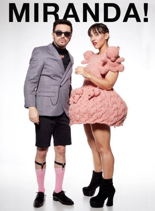 Miranda! regresa a la CDMX – Teatro Metropólitan en EVENTOS.  Chicas Rockeras!