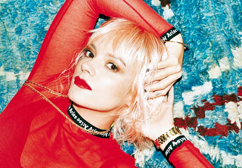 LILY ALLEN con nuevo disco NO SHAME y nuevo video 'Trigger Bang'  en MUSICA.  Chicas Rockeras!