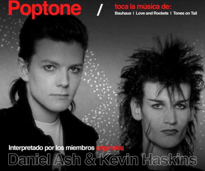 Lo mejor de Bauhaus, Tones on Tail y Love and Rockets en los próximos conciertos de PopTone en México