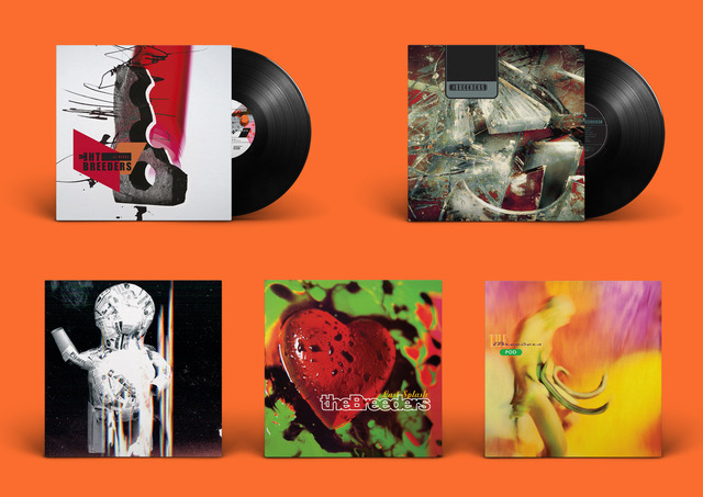 THE BREEDERS Anuncia reedición de su catálogo en vinilo en MUSICA.  Chicas Rockeras!