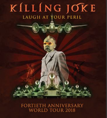 KILLING JOKE llega al Plaza como parte de su gira de 40 aniversario  'Laugh at you Peril' en EVENTOS.  Chicas Rockeras!