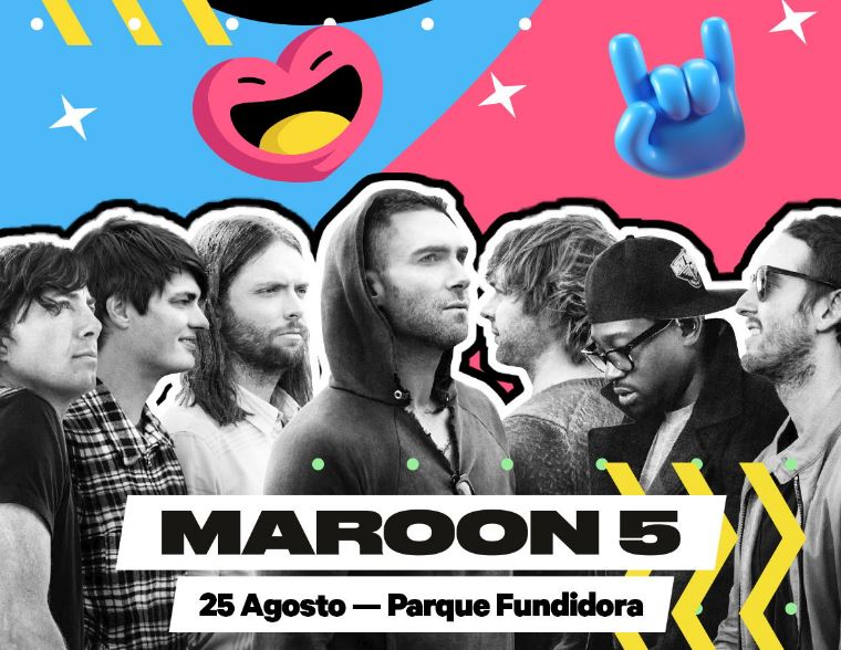 Maroon 5, headliner del Bud Light Hellow Festival 2018 en EVENTOS.  Chicas Rockeras!