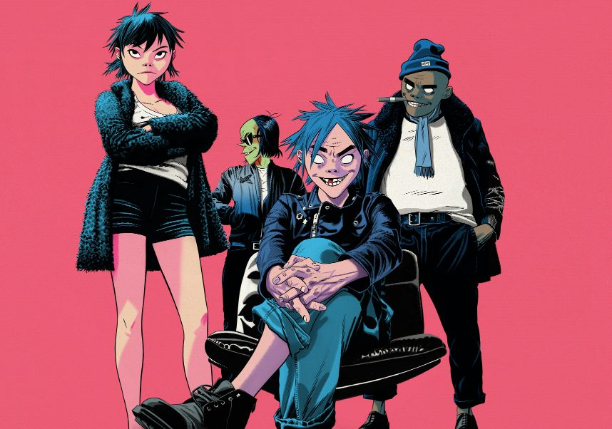 THE GORILLAZ regresa 'THE NOW NOW'