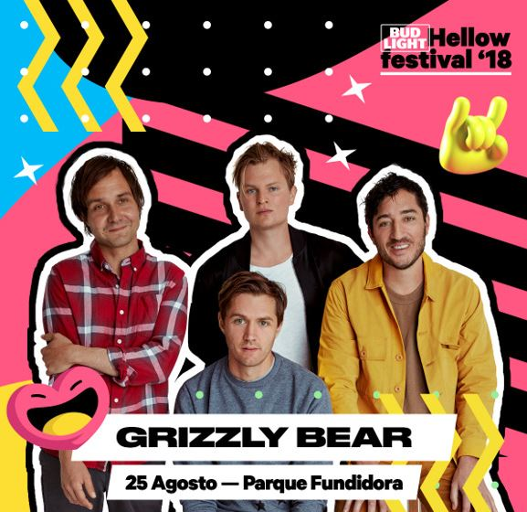 Psicodelia, rock y un poco de melancolía de la buena con Grizzly Bear en el Bud Light Hellow Festival 2018 en MUSICA.  Chicas Rockeras!