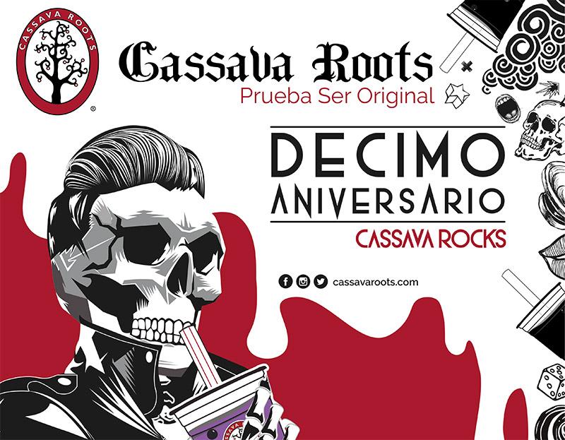 CASSAVA ROOTS Celebra su décimo aniversario con una gran fiesta el 29 de septiembre en EVENTOS.  Chicas Rockeras!