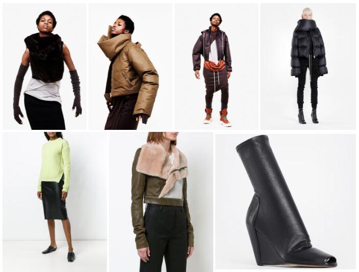 JET introduce una selección de piezas con el espíritu de reconstrucción en la moda de Rick Owens.