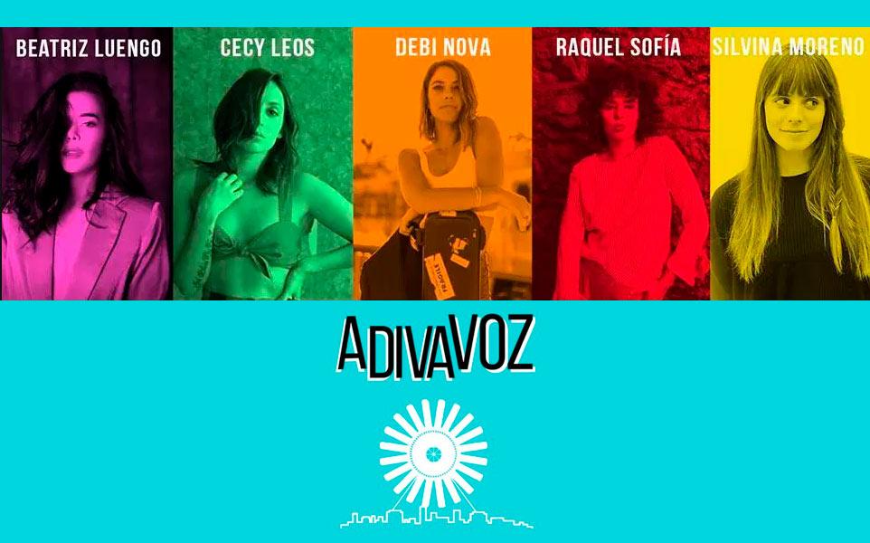 A DIVA VOZ presenta el talento de 5 compositoras en el Lunario en EVENTOS.  Chicas Rockeras!