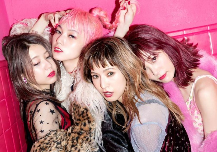 La banda de rock japonesa SCANDAL regresa a México este Septiembre