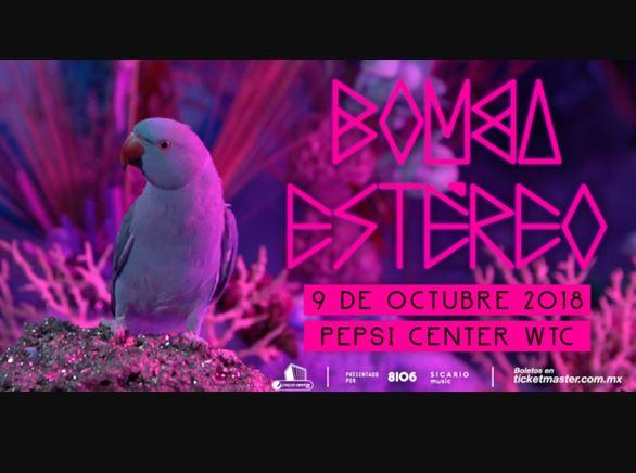 BOMBA ESTÉREO  llega a México con su JUNGLA TOUR 2018
