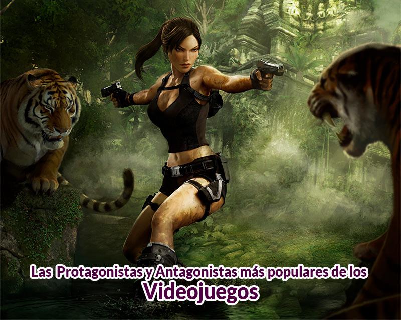 Las protagonistas y antagonistas más populares de los videojuegos en TECNOLOGIA.  Chicas Rockeras!