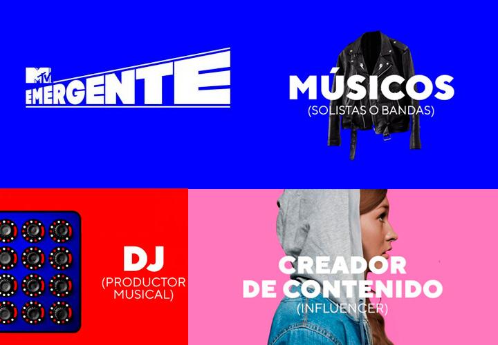 MTV Emergente es la nueva plataforma que busca en México a músicos, solistas o bandas, productores d...