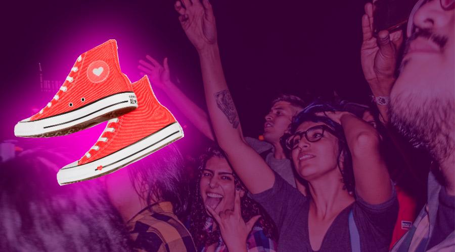 ¿Vas a un concierto y no sabes que calzado ponerte?