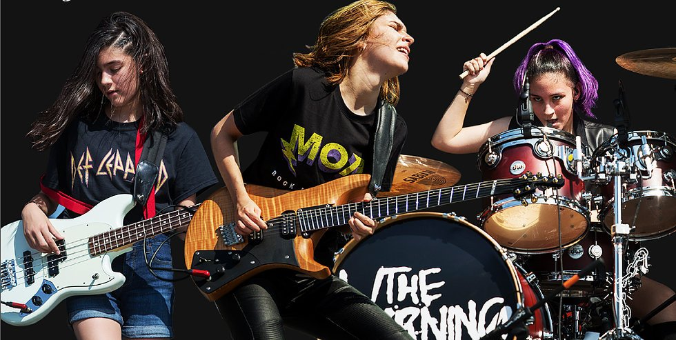 Entrevista con las chicas de The WARNING