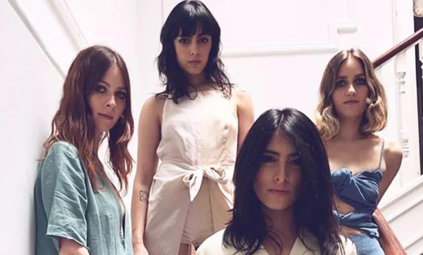 RUIDO ROSA presenta FRAGMENTOS, su nuevo material en MUSICA.  Chicas Rockeras!