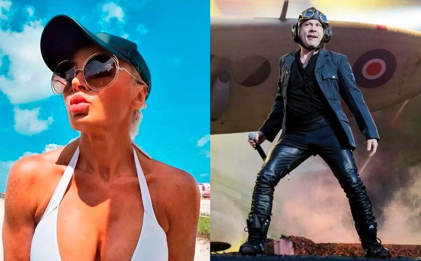 El vocalista de Iron Maiden, Bruce Dickinson, se había separado de su mujer de toda la vida Paddy Bo...