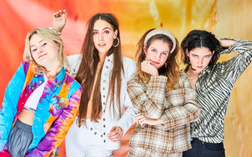 HINDS REGRESA CON 'RIDING SOLO' en MUSICA.  Chicas Rockeras!