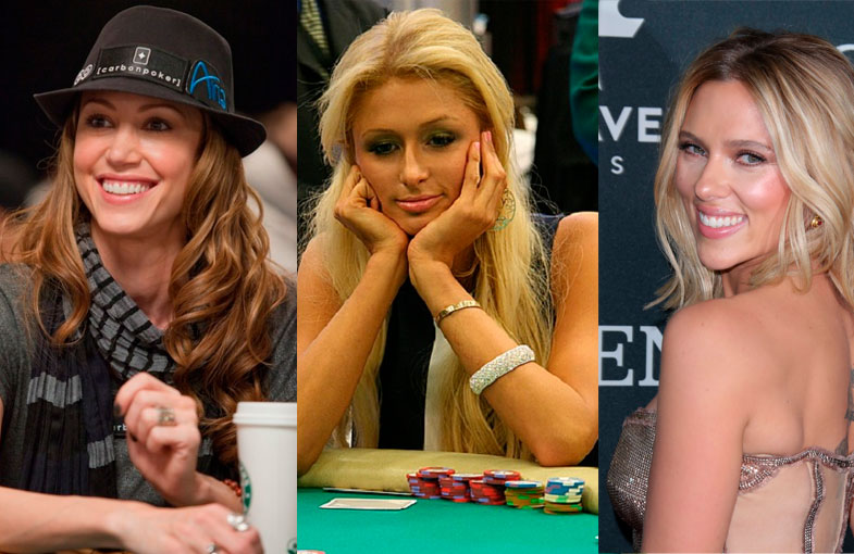 Celebridades que les gusta el póker en ENTRETENIMIENTO.  Chicas Rockeras!