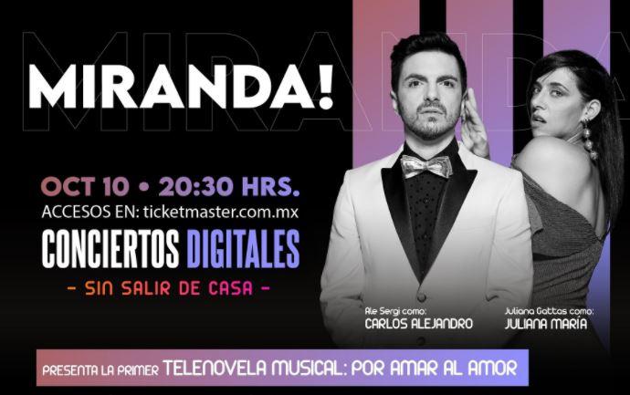 Presentando la primer telenovela musical: Por Amar Al Amor  ¡Una romántica historia de amor con vi...
