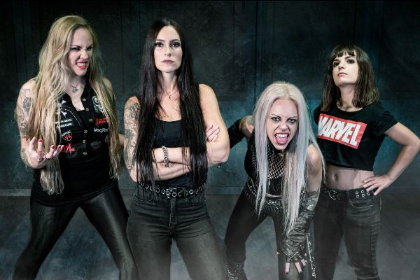 NERVOSA estrena el sencillo PERPETUAL CHAOS, nuevo disco en enero en MUSICA.  Chicas Rockeras!