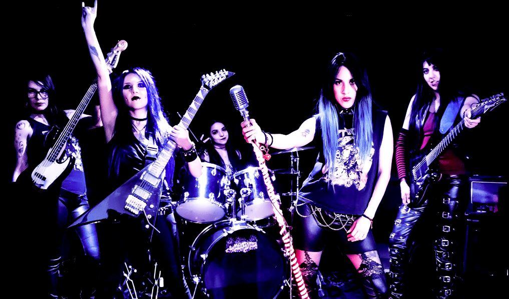 Las Fokin Biches aspiran a un crear 'Otro Mundo' en MUSICA.  Chicas Rockeras!