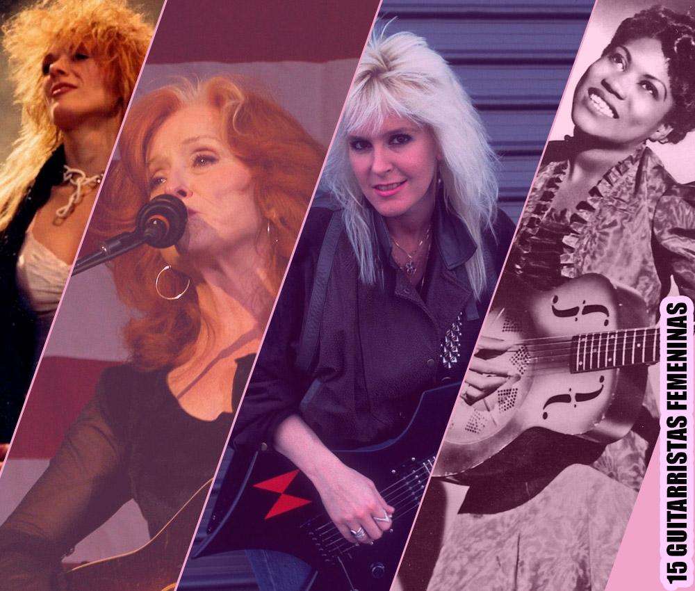 Las 15 guitarristas femeninas más famosas de todos los tiempos