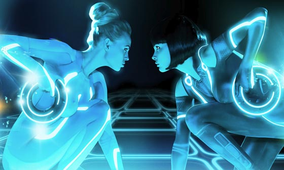 GAME ON, TRIBUTO SEXY A TRON