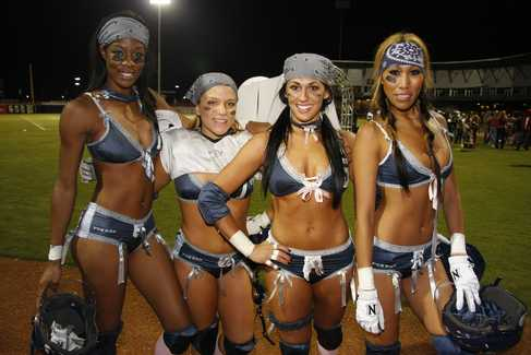 LINGERIE FOOTBALL LEAGUE EN MEXICO en DEPORTES.  Chicas Rockeras!